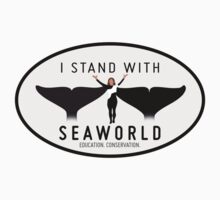 """I Stand With SeaWorld"" Logo by finsandflukes"