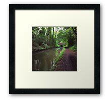 Riverside walks Framed Print