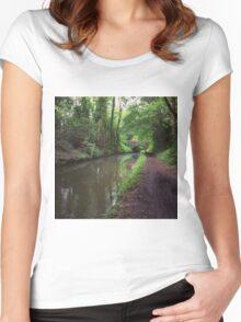 Riverside walks Women's Fitted Scoop T-Shirt