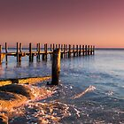 Quindalup Jetty by Andrew Dickman