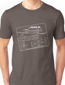 Toyota Tercel SR5 4WD Wagon AL25 BW Clinometer Unisex T-Shirt