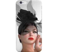 Vogue - fashion model iPhone Case/Skin