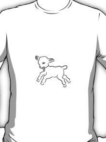 lamb running T-Shirt