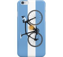 Bike Flag Argentina (Big - Highlight) iPhone Case/Skin