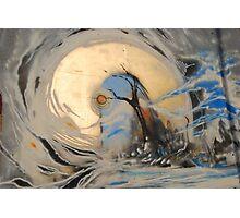 Graffiti Tree Photographic Print