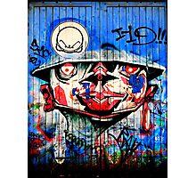 Graffiti Blue Photographic Print