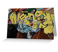Graffiti Boys Greeting Card