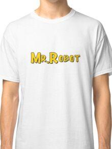 Mr. Robot Sitcom Classic T-Shirt