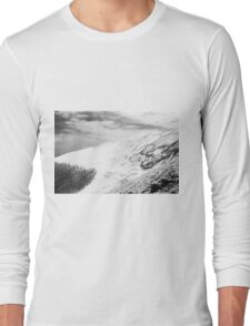 Mount Catria under the snow 05 Long Sleeve T-Shirt