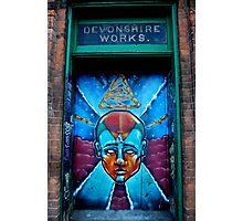 Graffiti Man  Photographic Print
