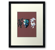 Pokemon: Team Plasma Framed Print