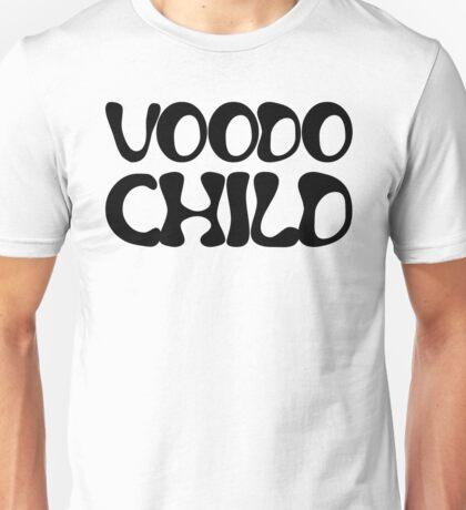 jimi hendrix voodo child rock lyrics hippie t shirts Unisex T-Shirt