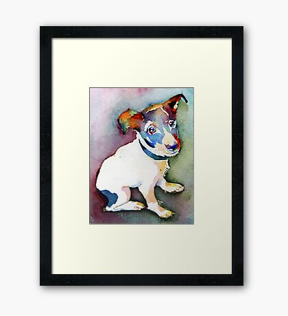 Tiny Pup Framed Print
