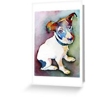 Tiny Pup Greeting Card