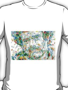 TERENCE MCKENNA - watercolor portrait.1 T-Shirt