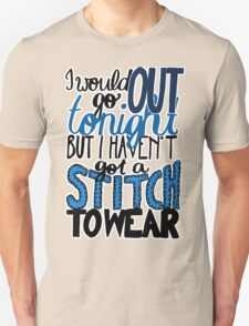"This Charming Man The Smiths Color ""I Would Go Out Tonight But I Haven't Got a Stitch to Wear"" Typography Quote Indie T-Shirt"