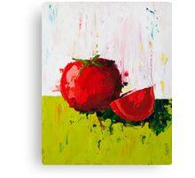 Plump Red Tomato Canvas Print