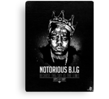 Notorious BEEF BN Canvas Print