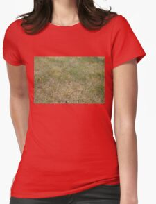 Grass Womens Fitted T-Shirt