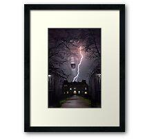 Storm House Framed Print