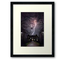Storm House Framed Print