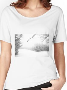 Mount Catria under the snow 11 Women's Relaxed Fit T-Shirt