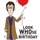 A Tenth Doctor Who themed Birthday Card 2 by mjfouldes