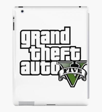 Grand Theft Auto Five! iPad Case/Skin