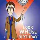 A Tenth Doctor Who themed Birthday Card 3 by mjfouldes