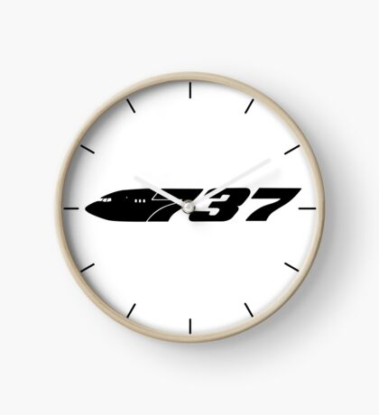 Boeing 737 Black Clock