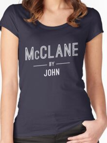 McClane by John Women's Fitted Scoop T-Shirt