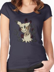 Pokemon - Mimikyu Women's Fitted Scoop T-Shirt