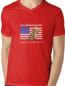 Gumshoos - Make Alola Great Again!  Mens V-Neck T-Shirt