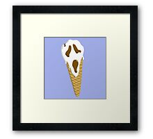 I Scream Framed Print
