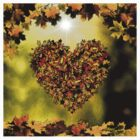 Autumn Heart  by PopCultFanatics