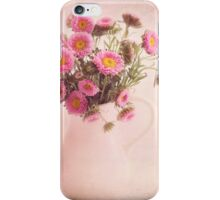 Bouquet  of pink and yellow flowers iPhone Case/Skin