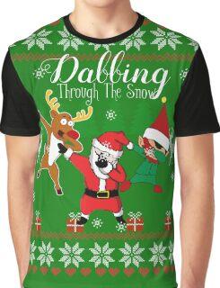 Dabbing Through the Snow Graphic T-Shirt