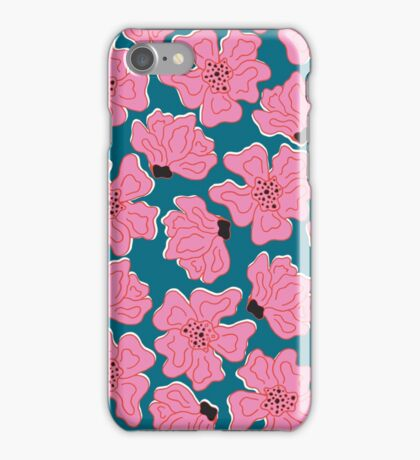 Squiggle Floral iPhone Case/Skin