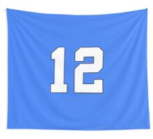 Seattle Seahawks - 12 Flag Wall Tapestry