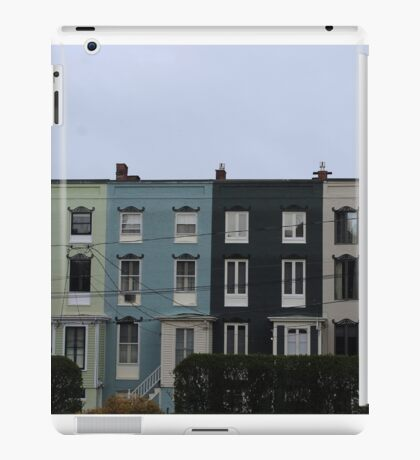 Colored Buildings iPad Case/Skin
