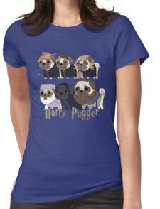 Harry Pugger Womens Fitted T-Shirt