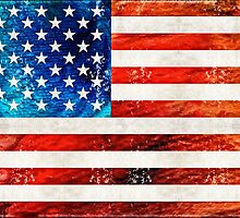 American Flag Art - Old Glory - By Sharon Cummings by Sharon Cummings
