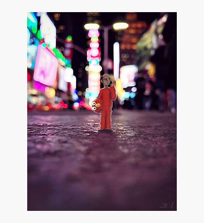 elmo - times square Photographic Print