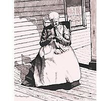 Grandmother Elizabeth Photographic Print