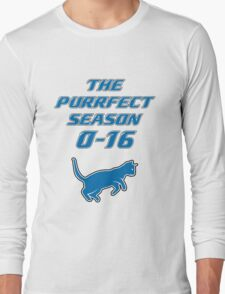 Motor City Kitties Perfect Season Long Sleeve T-Shirt