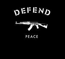 Defend Paris Peace by spiceboy