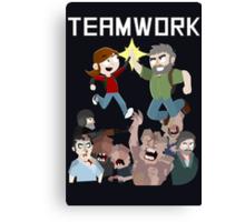 The Last Of Us - Teamwork Canvas Print
