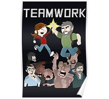 The Last Of Us - Teamwork Poster