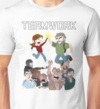 The Last Of Us - Teamwork Unisex T-Shirt