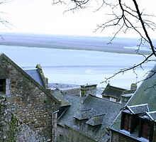 Mont-St-Michel View by EmiMills